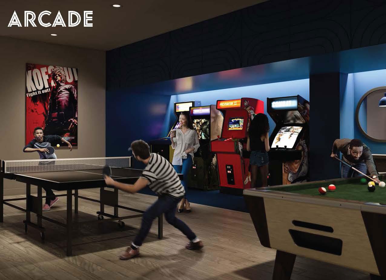 Arcade - ARTWORKS TOWER