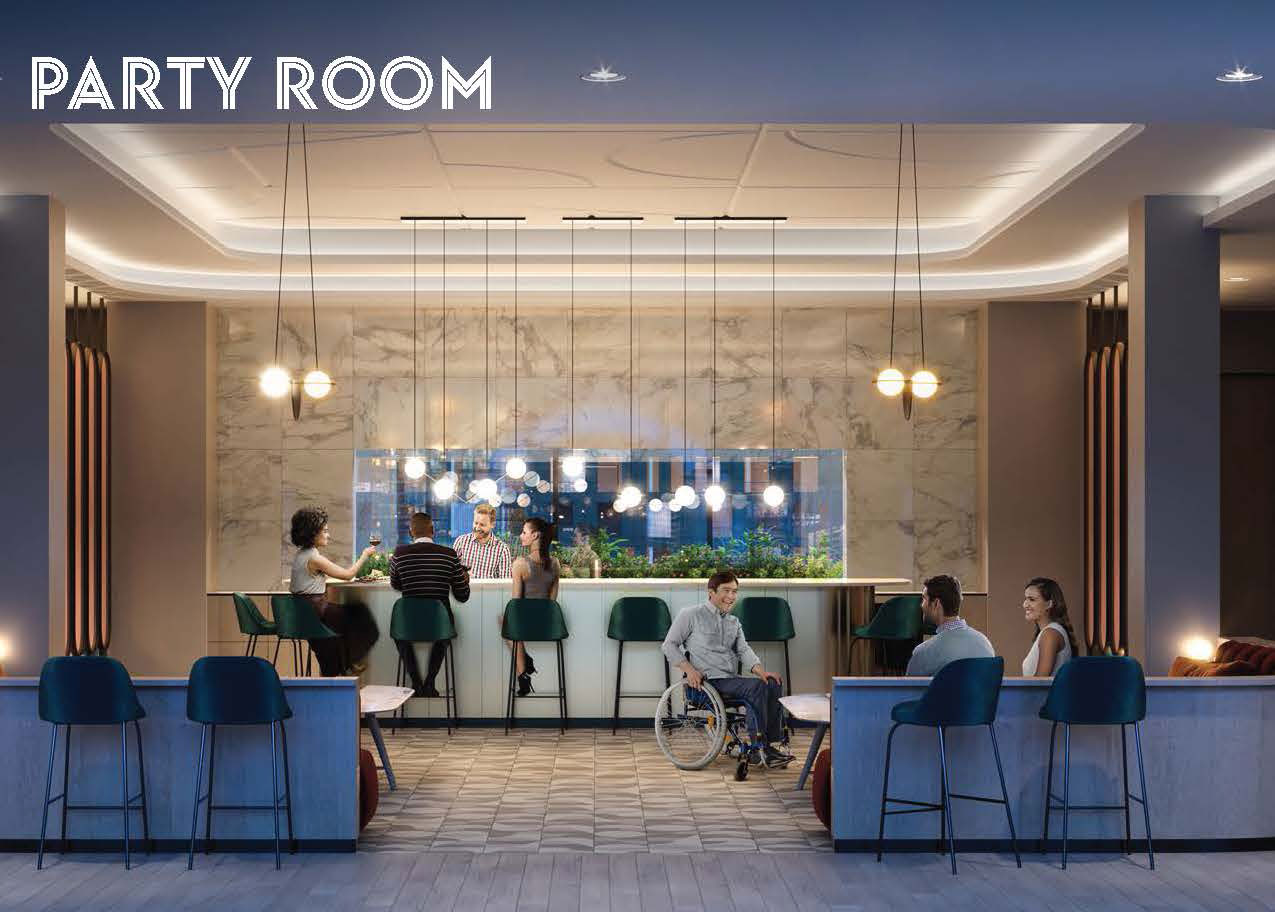 Party Room - ARTWORKS TOWER