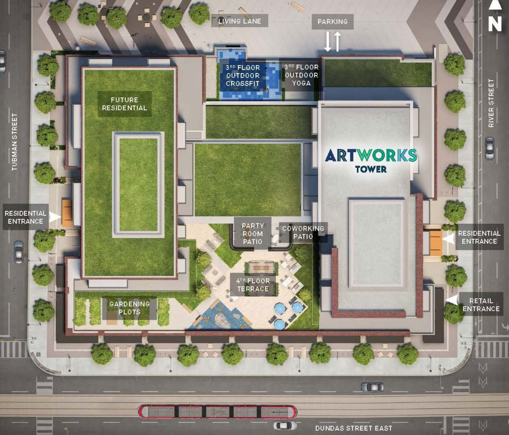 Artworks Site Plan