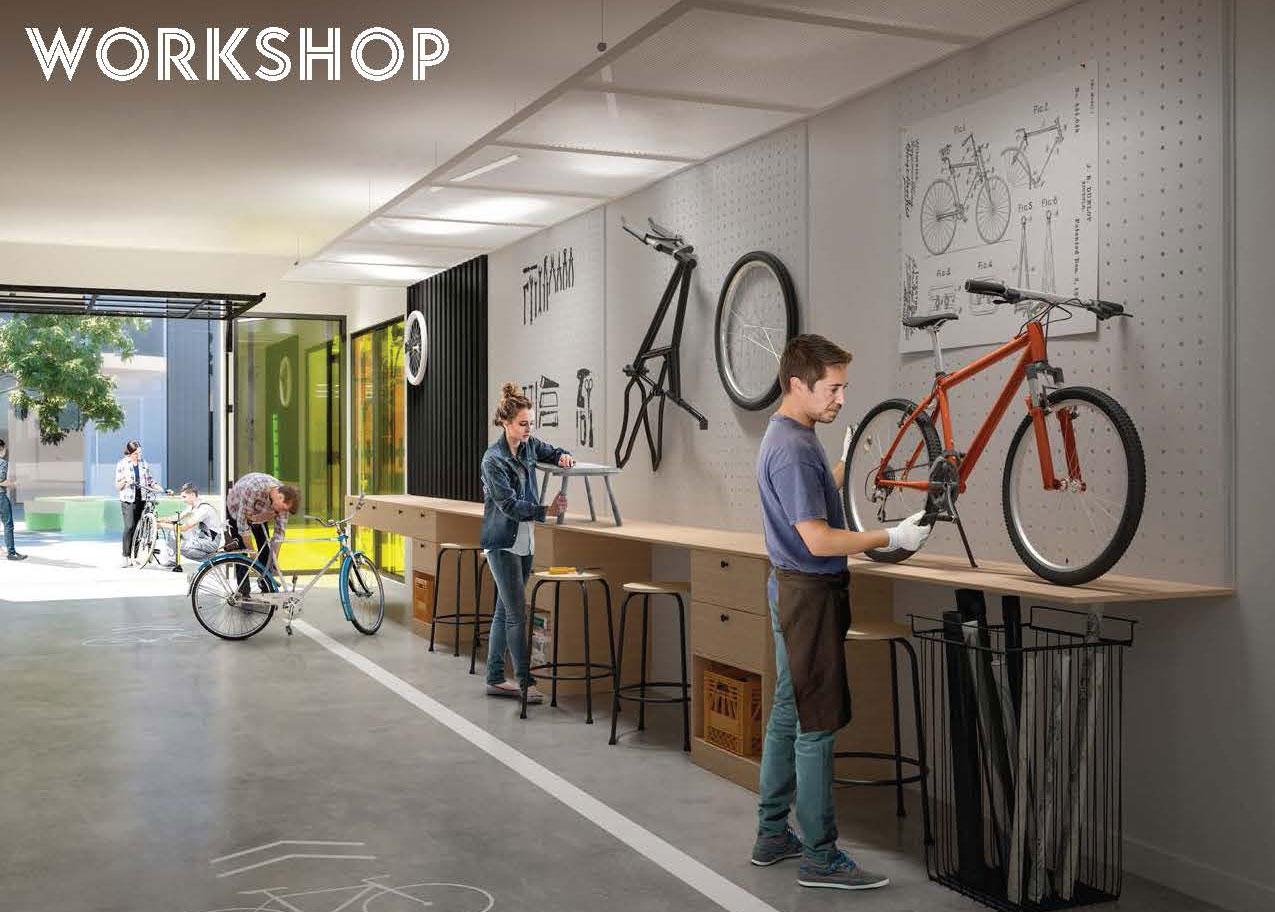 Workshop Space - ARTWORKS TOWER